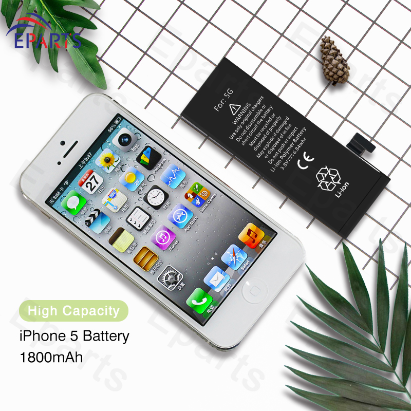 High Quality Original Replacement Battery For iPhone 5