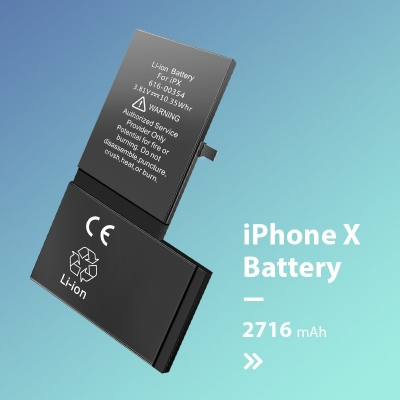 iPhone-X Battery